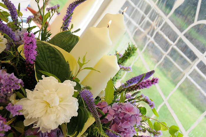 Beautiful wedding flowers by Hays Flowers, Deeside Aberdeenshire